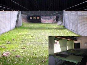Blick auf die Gewehrbahnen